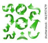 arrow icon set | Shutterstock .eps vector #461957479