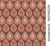 seamless pattern in indian... | Shutterstock .eps vector #461960254