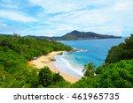 top view beach in phuket | Shutterstock . vector #461965735