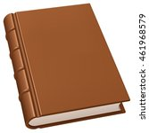 old leather book | Shutterstock .eps vector #461968579