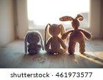 stuffed toys animals  bunny...   Shutterstock . vector #461973577