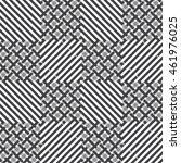 checkered seamless pattern.... | Shutterstock .eps vector #461976025