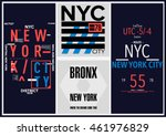 nyc   new york district   stock ... | Shutterstock .eps vector #461976829