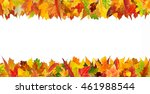 colorful autumn different... | Shutterstock . vector #461988544