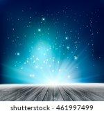 beautiful magical night... | Shutterstock .eps vector #461997499