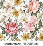 seamless pattern. beautiful... | Shutterstock .eps vector #462004681