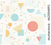geometric  seamless pattern for ...   Shutterstock .eps vector #462004891