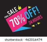 sale banner template. best... | Shutterstock .eps vector #462016474