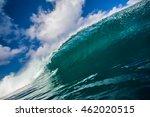 shorebreak ocean wave in...   Shutterstock . vector #462020515