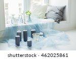 decor of photostudio   gray...   Shutterstock . vector #462025861