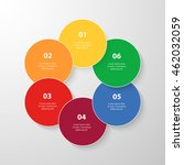 infographics step by step.... | Shutterstock .eps vector #462032059