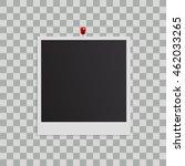 blank photo frame isolated on... | Shutterstock .eps vector #462033265