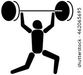 this is sport pictogram ... | Shutterstock .eps vector #462065695