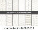 ornamental patterns    seamless ... | Shutterstock .eps vector #462075211