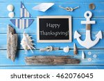 nautic chalkboard and text... | Shutterstock . vector #462076045