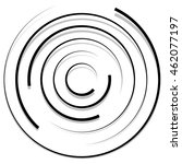 Concentric Random Circles With...