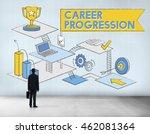 career progression promotion... | Shutterstock . vector #462081364