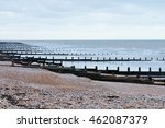 Wooden Groynes Water Breaker...
