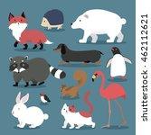 adorable animals set  ...   Shutterstock .eps vector #462112621