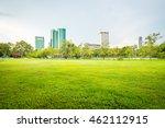beautiful park scene in public... | Shutterstock . vector #462112915