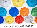 street decoration with colorful ... | Shutterstock . vector #462114955