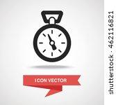 stopwatch icon | Shutterstock .eps vector #462116821
