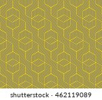seamless gray and yellow... | Shutterstock .eps vector #462119089