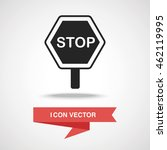 roadblocks icon | Shutterstock .eps vector #462119995