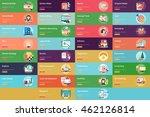 creative process conceptual... | Shutterstock .eps vector #462126814