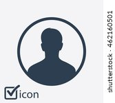 user sign icon. person symbol.... | Shutterstock .eps vector #462160501