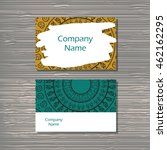 creative template for designer  ... | Shutterstock .eps vector #462162295