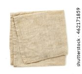 linen serviette on a white... | Shutterstock . vector #462171859