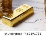gold bar concept | Shutterstock . vector #462191791