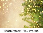 christmas decorations and gift... | Shutterstock . vector #462196705