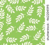 seamless pattern with leaves....   Shutterstock .eps vector #462204595