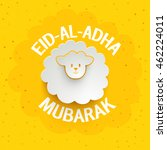 muslim community  festival of... | Shutterstock .eps vector #462224011