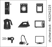 household appliances icon.... | Shutterstock .eps vector #462241225
