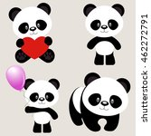 Cute Panda Icons  Asian Bear...