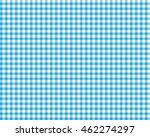 blue checkered picnic tablecloth | Shutterstock . vector #462274297