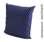blue polka dot cushions... | Shutterstock . vector #462293695
