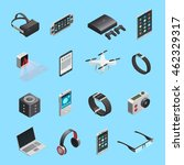 isometric icons set of... | Shutterstock .eps vector #462329317
