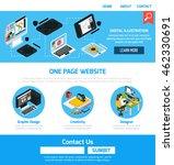 graphic design advertising... | Shutterstock .eps vector #462330691