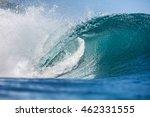 shorebreak big ocean wave in...   Shutterstock . vector #462331555