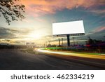 billboard blank for outdoor... | Shutterstock . vector #462334219