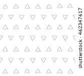 seamless pattern. triangular... | Shutterstock .eps vector #462347617
