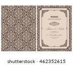 wedding invitation cards ...   Shutterstock .eps vector #462352615