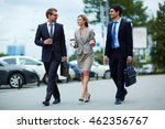 Young Business People Walking...