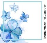 blue violet frame   Shutterstock .eps vector #462381949