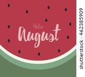 watermelon vector design... | Shutterstock .eps vector #462385909