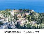 ancient greek theatre ruins in...   Shutterstock . vector #462388795